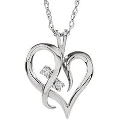 Diamond Heart Necklace | Stuller