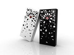 influenced by morrocan tiles, the 'zel clock' is designed by mostapha el oulhani for darenart