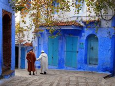 Walking in Chefchaouen, Morocco by Legal Nomads