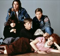 The Breakfast Club - Anthony Michael Hall - Emilio Estevez - Ally Sheedy - Molly Ringwald - Judd Nelson