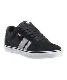 Loving this DVS Shoe Company Black Milan 2 Ct Suede Skate Sneaker on #zulily! #zulilyfinds