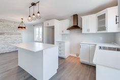 We love this kitchen! We just recently completed this custom home design in Bristolwood, St. John's.