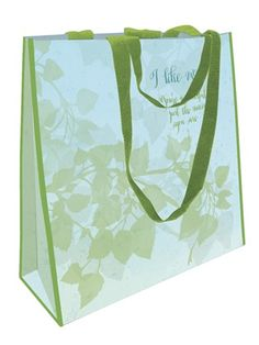 """ECO SHOPPING BAGS """"I LIKE YOU"""" """"YOU'RE WONDERFUL JUST THE WAY YOU ARE"""" Add a little style to your shopping routine with our wearable art shoppers.  #gift #gifttoself"""