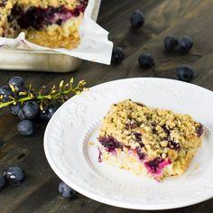 Concord Grape Crumb Cake