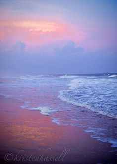 i miss pink sand in the setting sun and those amazing sunrises.