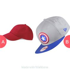 Which cap? Tap to vote http://sms.wishbo.ne/U1ak/Y8jQ8zWvIx
