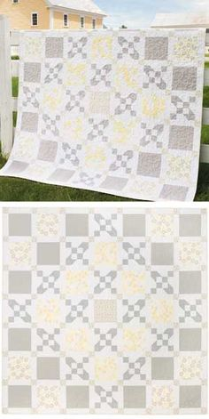 YELLOW MAZE QUILT KIT