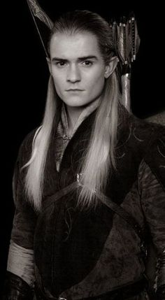 """I will follow you into death an beyond."" -Legolas He makes long Hair on guys look sooooo  AWESOME ❤️                                                                                                                                                                                 Mehr"