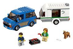 Lego City Van Caravan 60117 Building Toy Kids SEALED Set Vehicles camper Camping | eBay
