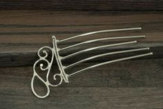 Hair Stick by northwestgoods on Etsy (Accessories, Hair, Comb, hair comb, hair stick, hair fork, long hair, hair toy, metal, sturdy, women, hairstyle, hair accessory, copper, northwestgoods, dot)