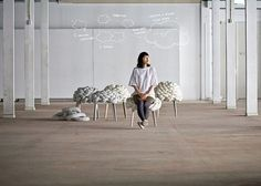 Unique Cloud Stool by Studio Joon and Jung