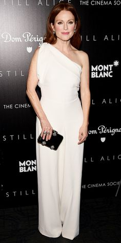 Look of the Day - January 14, 2015 - Julianne Moore in Alexander McQueen from #InStyle