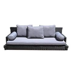"""Get terrific pointers on """"patio furniture sets"""". They are actually available for you on our site. Resin Wicker Patio Furniture, Outside Furniture, Patio Furniture Sets, Outdoor Furniture, Concrete Patio, Porch Swing, Outdoor Sofa, Modern, Chains"""