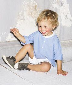 Luna Love   A sweet summer look for a little boy ☽