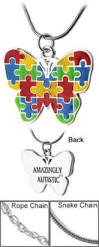 Amazingly+Autistic™+Butterfly+Necklace+at+The+Autism+Site