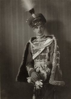 Archduke Maximilian Eugen of Austria ( 1895-1952), youngest brother of Kaiser Karl I  Image from mids 1910s.