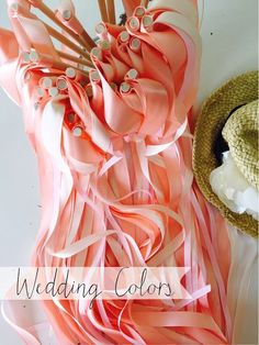 DIY Ribbon Wands! #wedding #favors #DIY