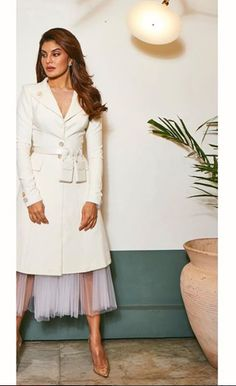 Jacqueline Fernandez, Street Fashion, Photoshoot, Street Style, Shirt Dress, Photo And Video, My Love, Girls, Baby