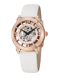 Womens Winchester Rose Gold Watch by Stuhrling Original