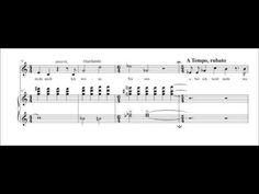 """Drei Lieder op. 17/1 """"Geist"""" with sheet music"""