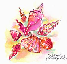 Lilly5x5 Lilly Pulitzer Prints Lily Seashell