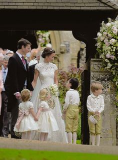 The Beautiful Moment From Pippa's Wedding Everyone Seemed To Have Missed