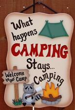 What happens CAMPING, stays camping...