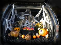 trunk or treat ideas for your car or truck for halloween fall festivals