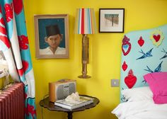 Caro & Josh's Colorful & Quirky English Home — House Tour | Apartment Therapy