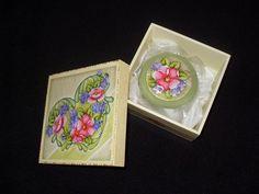 Caixa Flores com sabonete
