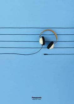 panasonic headphone ad