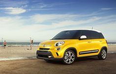 2014 FIAT #500L - More interior space + more doors + more passengers = More #fun and more #freedom!