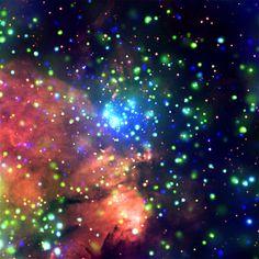 Star Formation Factory, W3 (NASA, Chandra, 12/18/06)