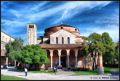 Torcello, Italy The Places Youll Go, Places Ive Been, Wonderful Places, Beautiful Places, Bruges, Byzantine, Italy Travel, Wander, Venice