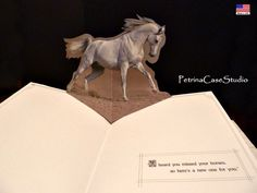 Arabian Horse Dowry Pop-Up Book. 2nd Pop-Up