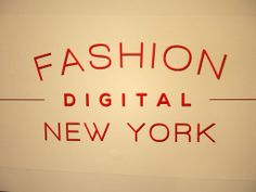 Fashion Digital NY 2013 #Guidance Meets with the Fashion Industry and Presents on Social eCommerce; From Oscar de la Renta to Urban Outfitters to Major League Baseball - many brands were in the house to network and grow their eCommerce businesses. #fashiondigital