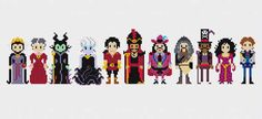 And this lineup of the villains.