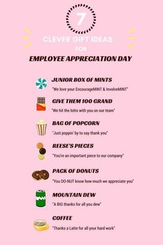 appreciation gifts Super Diy Gifts For Teachers Employee Appreciation Ideas Employee Appreciation Gifts, Employee Gifts, Volunteer Appreciation, Teacher Appreciation Week, Employee Rewards, Employee Wellness, Workplace Wellness, Staff Gifts, Volunteer Gifts