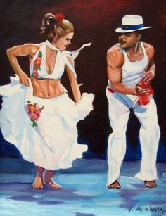 Pictures of people dancing salsa. Pictures of people dancing salsa. Afro Cuban, Cuban Art, Shall We Dance, Lets Dance, Danse Salsa, Puerto Rico, Cuban Salsa, Dance Paintings, People Dancing