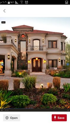Future House, My House, Spanish House, Mediterranean Homes, Facade House, House Goals, Next At Home, My Dream Home, Planer