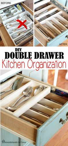 Make the most of your drawers - Step by step instructions.