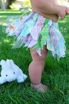 Woodland Fairy Princess SEWN scrap fabric tutu | Baby girl 1st birthday cake smash, Halloween costume, photography prop, or dress up clothes on Etsy, $44.00