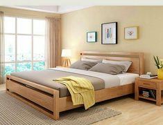 Indian Bedroom Design, Bedroom Furniture Design, Home Room Design, Master Bedroom Design, Bed Furniture, Simple Bed Designs, Double Bed Designs, Cama Design, Bed Frame Design