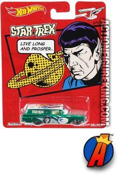 #STARTREK 2013 Pop Culture Mr. #SPOCK die-cast vehicle from #HOTWHEELS See thousands of new and vintage #Collectibles #Toys #ActionFigures and more here… http://actionfigureking.com/list-3/hot-wheels/star-trek-2013-hot-wheels-mr-spock-pop-culture-die-cast-chevy-delivery