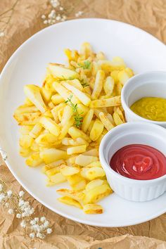 Patatas fritas bajas en calorías