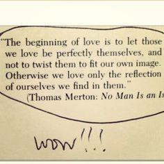 beginning of love