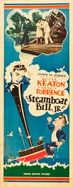 1928 - STEAMBOAT BILL, JR. - Charles F. Reisner