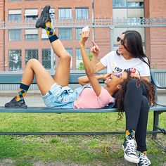 What's better than hanging out with your best friend? Hanging out with your best friend while wearing matching socks! Your Best Friend, Best Friends, Matching Friend, Friends Hanging Out, Matching Socks, Something To Do, Children, Kids, Running