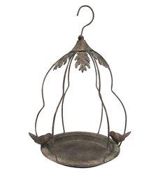 In The Garden Distressed Metal Bird Feeder