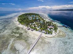 One of the place you should go before you ..... whatever it is  Its #Arborek in #RajaAmpat